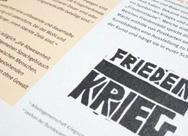 Unterrichtsmaterialien zum Thema Frieden, SEK I und II